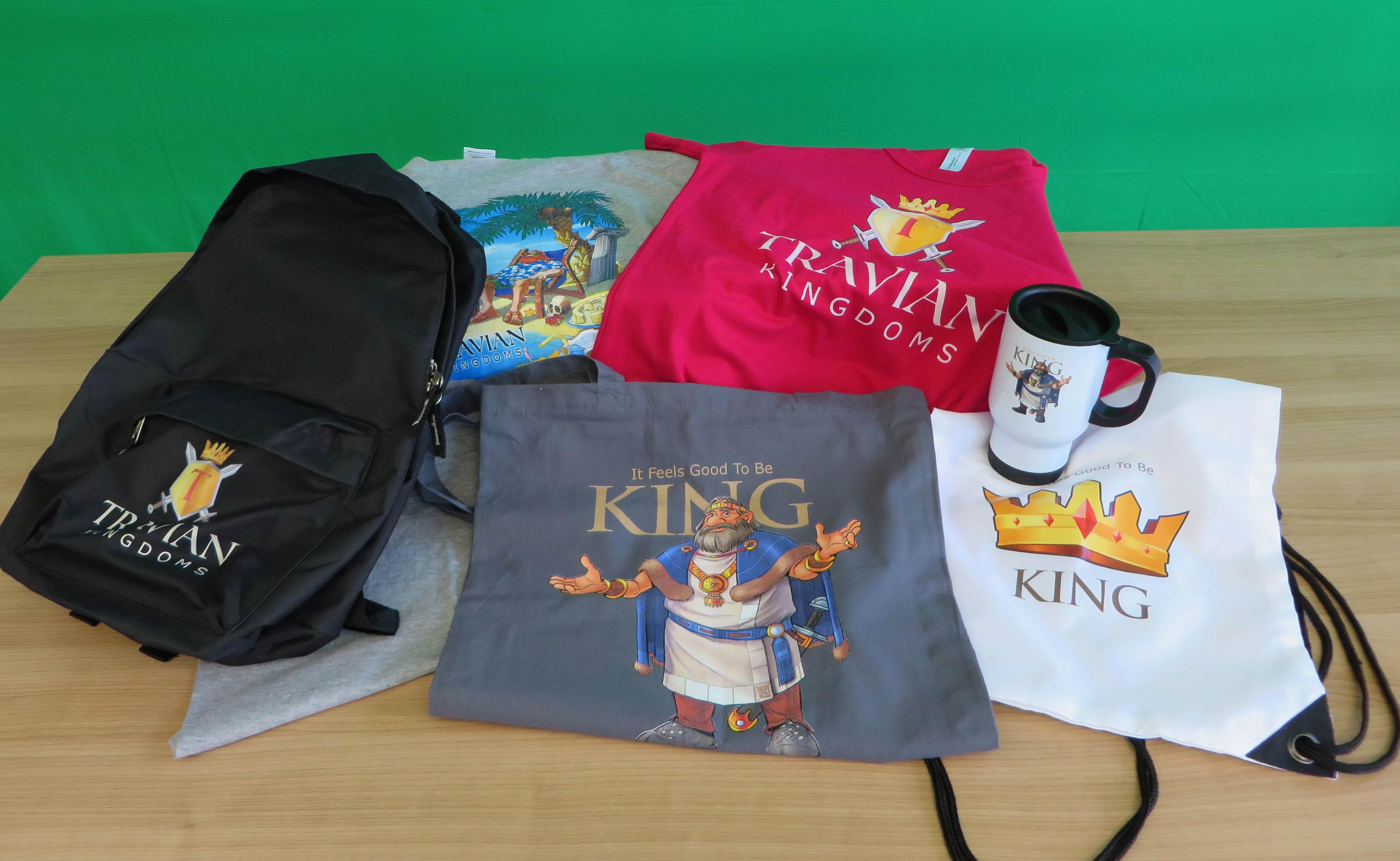 Der Travian: Kingdoms-Spreadshirt-Shop