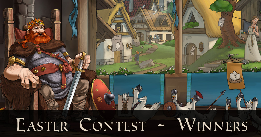 Easter Contest – We have some winners!