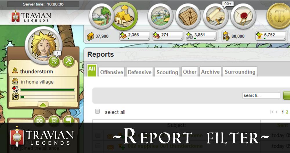 Report-Filter