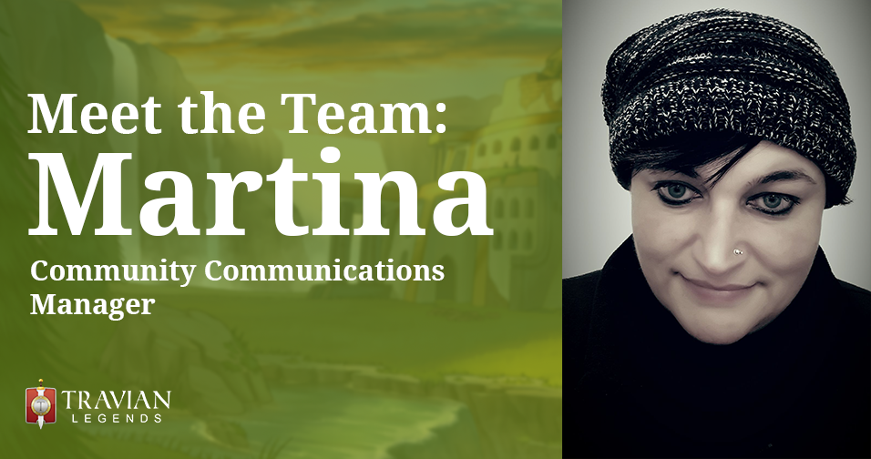 Meet the Team: Martina, Community Communications Manager