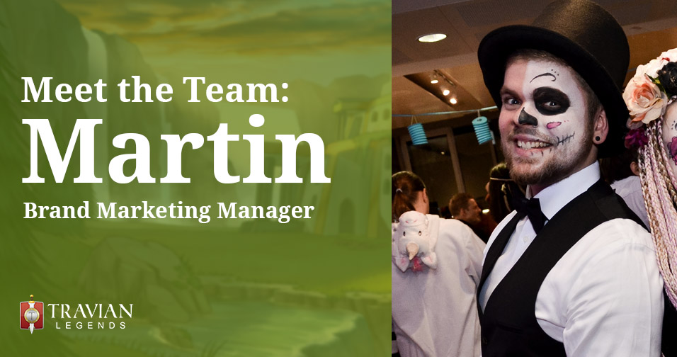 Meet the Team: Martin, Brand Marketing Manager