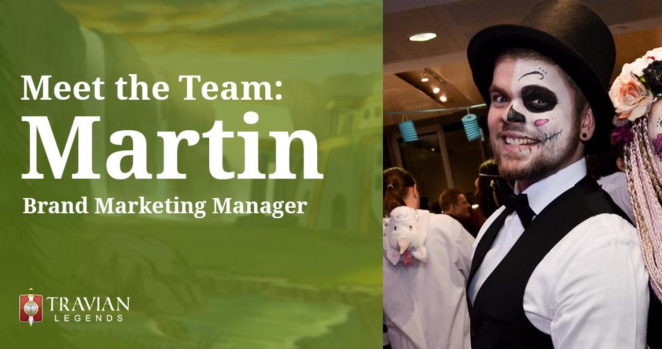 Meet the Team: Martin, Brand Marketing Manager