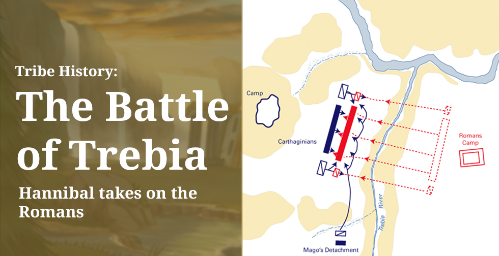 Tribe History: The Battle of Trebia – Hannibal takes on the Romans