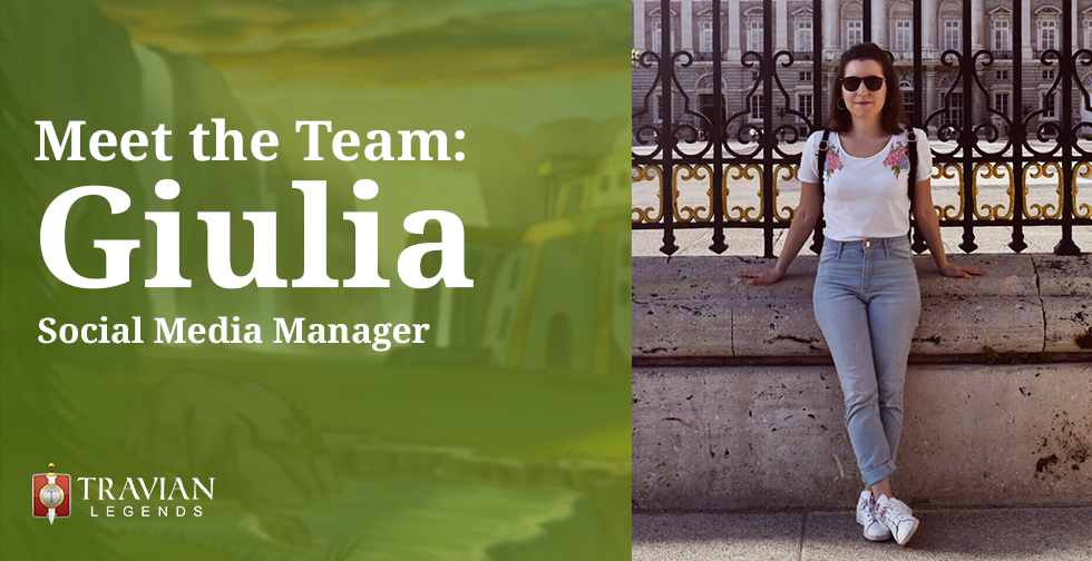 Meet the Team: Giulia, Social Media Manager
