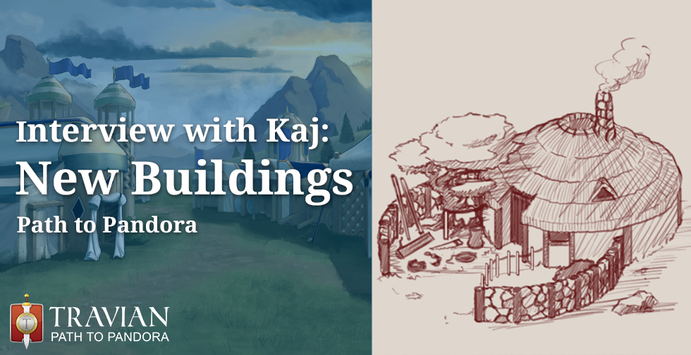 Interview with Kaj, 2D Artist ~ New Buildings in Path to Pandora