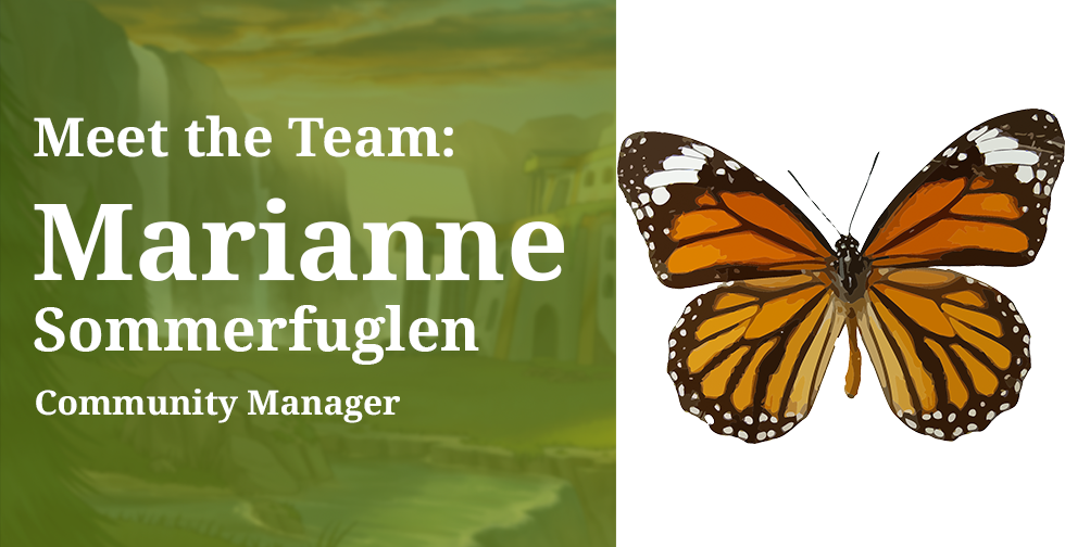 Meet the Team: Marianne, Community Manager