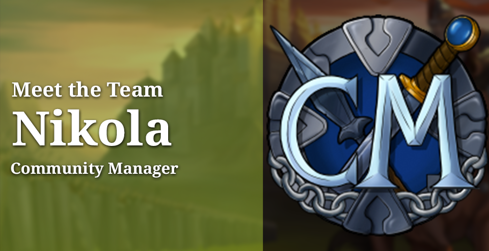 Meet the Team: Nikola, Community Manager