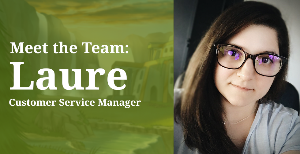 Meet the Team: Laure, Customer Service Manager