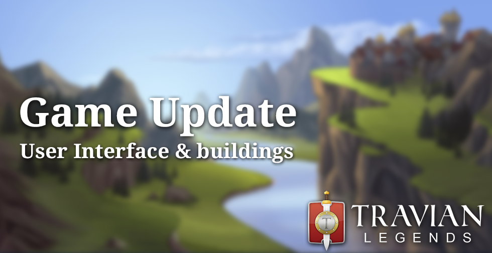 Game Update ~ New user interface, tribe-specific buildings and backgrounds