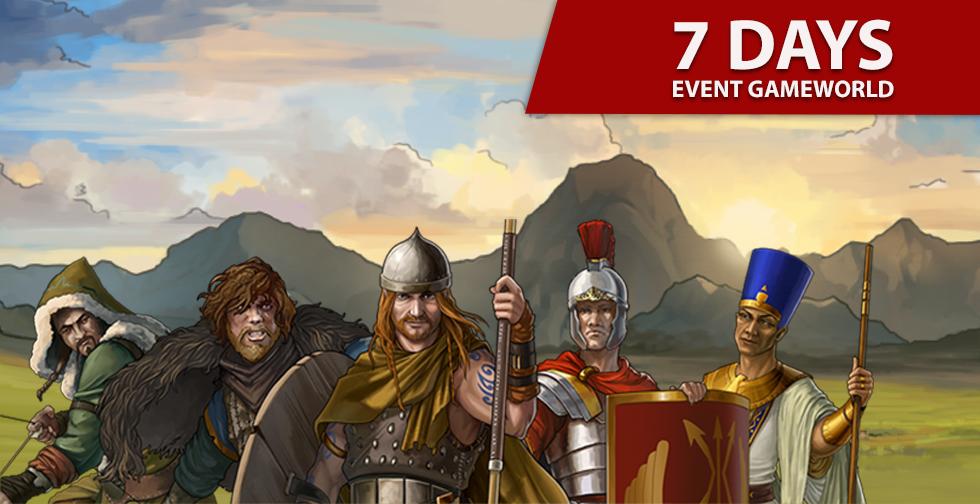 7-days ~ Event Gameworld Round 2 ~ Starting 23.02.2021