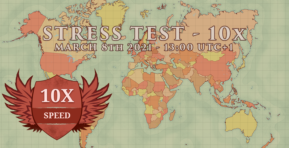 Stress Test Gameworld  ~ Help us and get a permanent medal!
