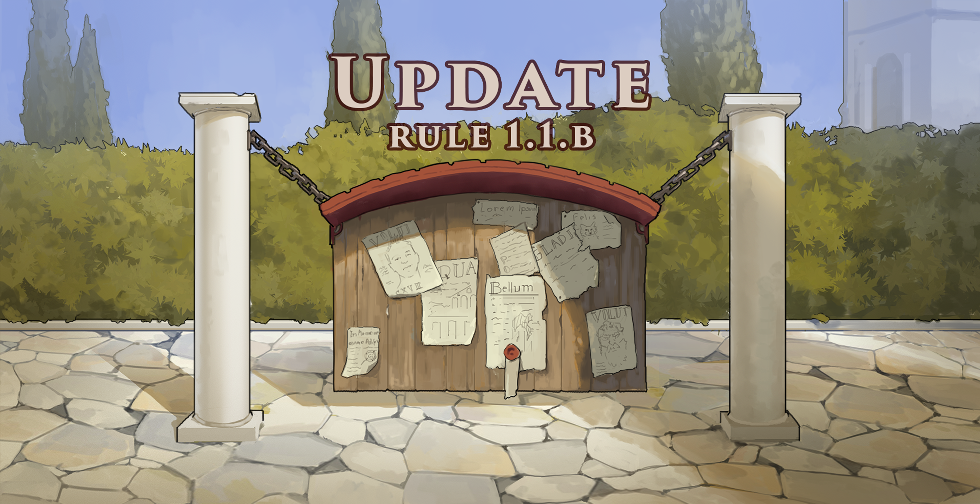 Game Rules update – Monday June 7th