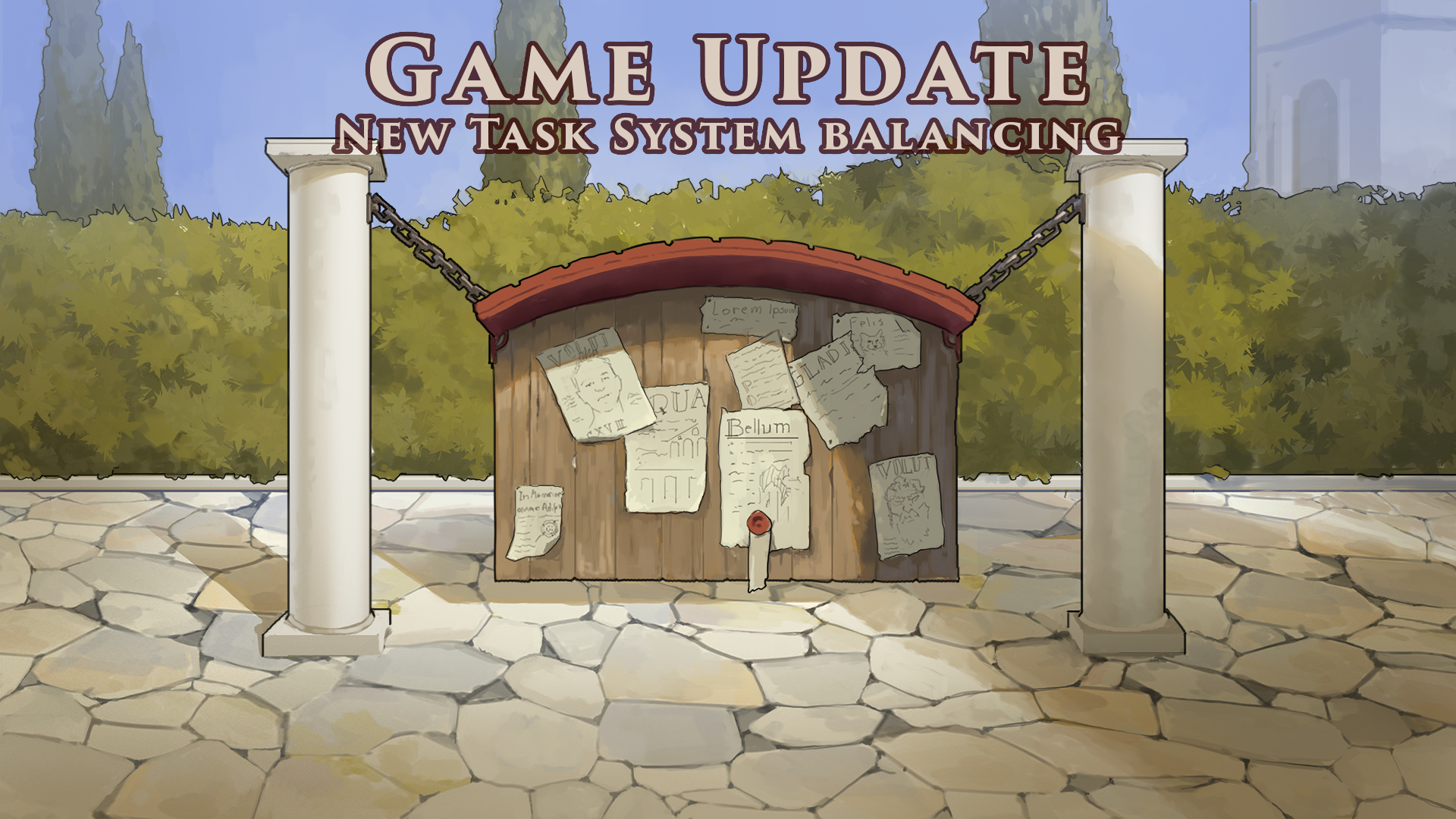 GAME UPDATE ~ New Task System Balancing Changes ~ July 19th 2021