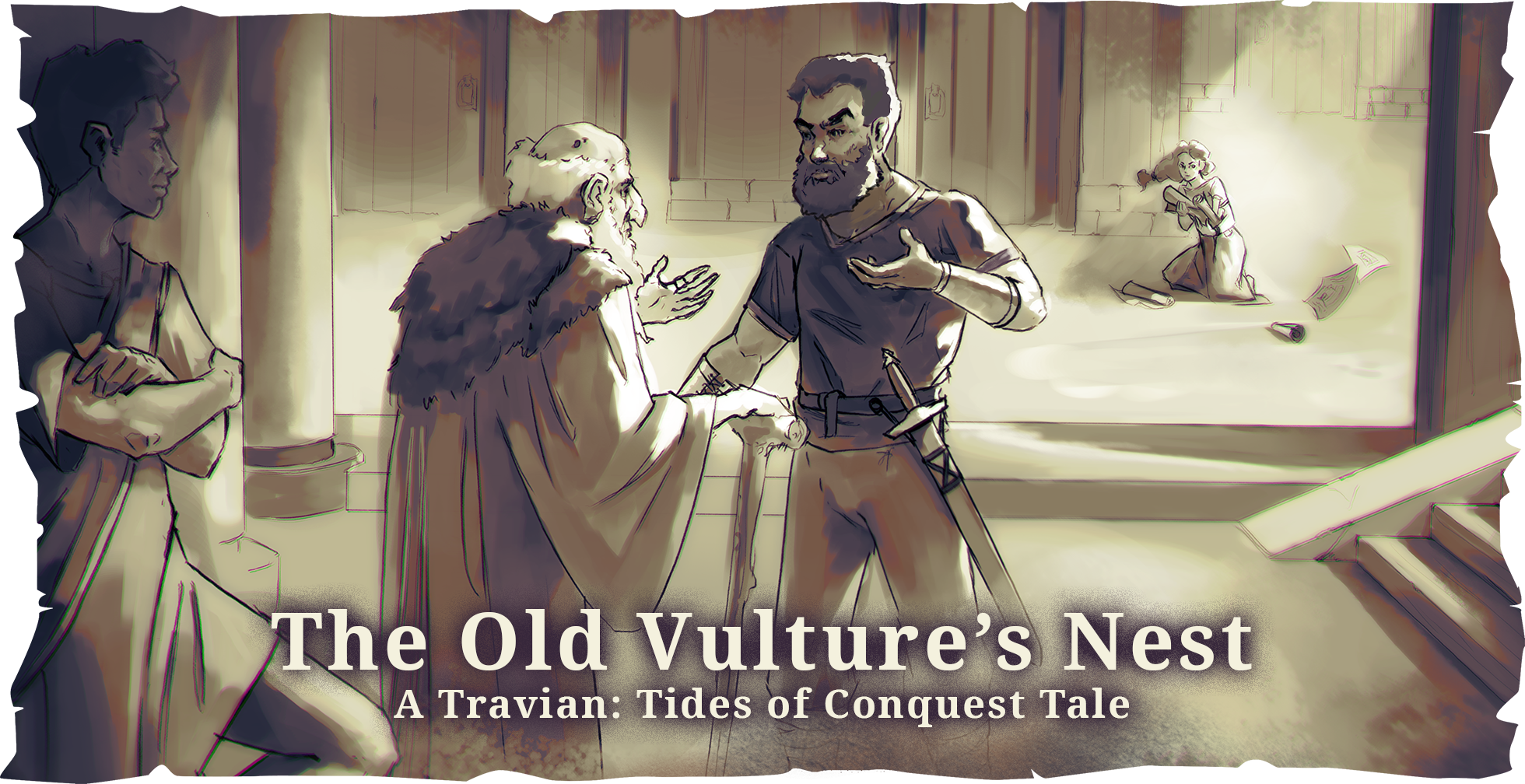 AUDIOBOOK ~ The Old Vulture's Nest – A Travian: Tides of Conquest Tale