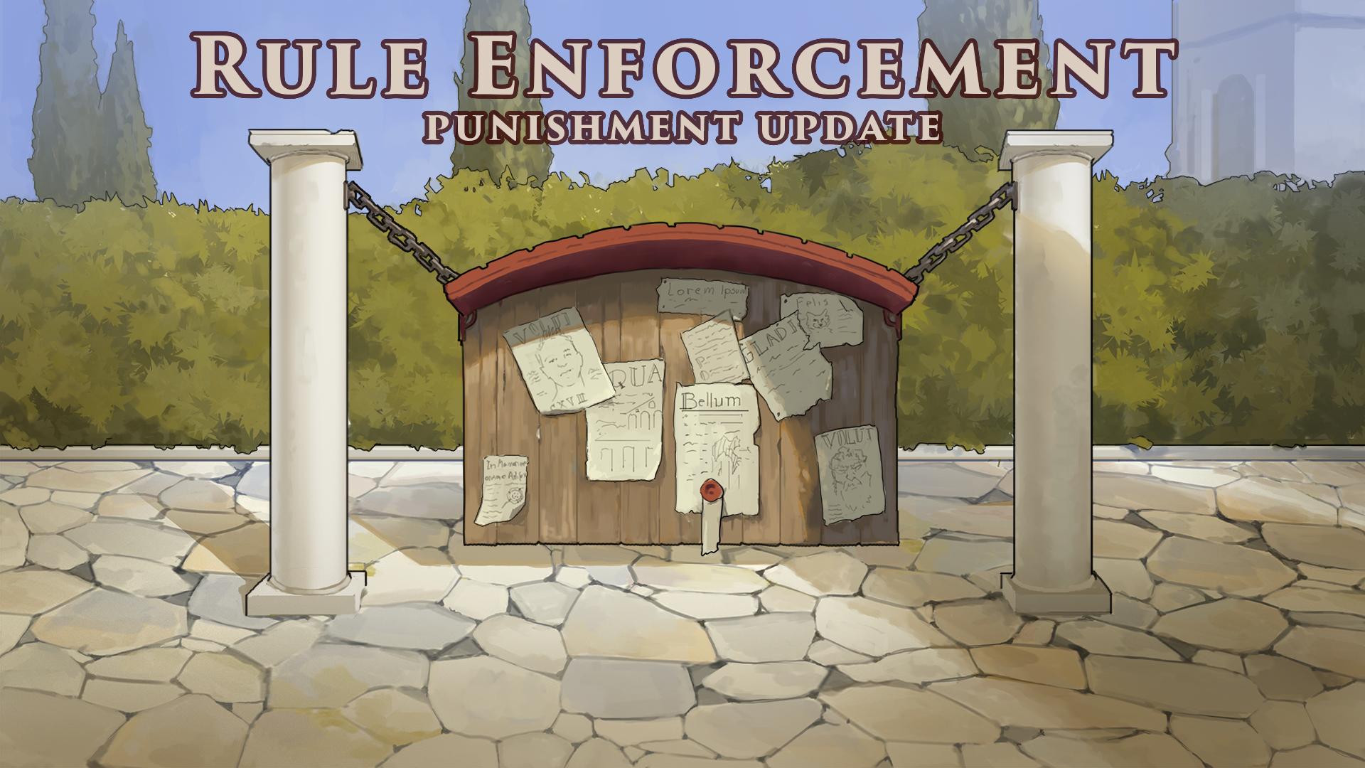 Kemas kini Penguatkuasaan Peraturan ~ Hukuman yang Lebih Keras kerana menjual kandungan atau akaun dalam permainan