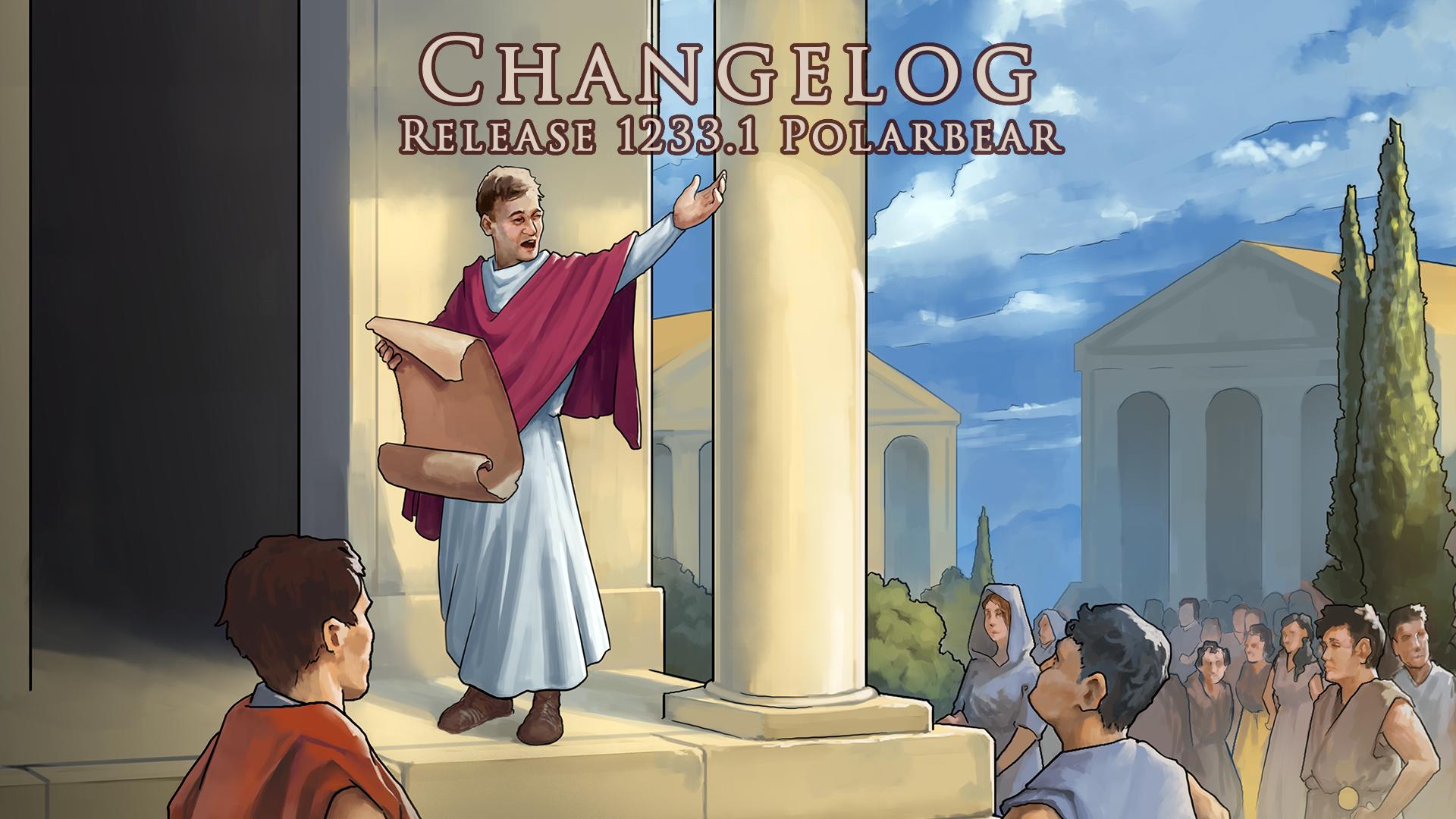 CHANGELOG – Release Polarbear 1233.1