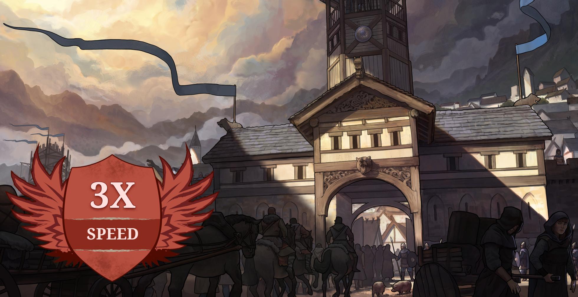 Travian: Tides of Conquest – x3 Speed – Πληροφορίες Κόσμου Παινχνιδιού