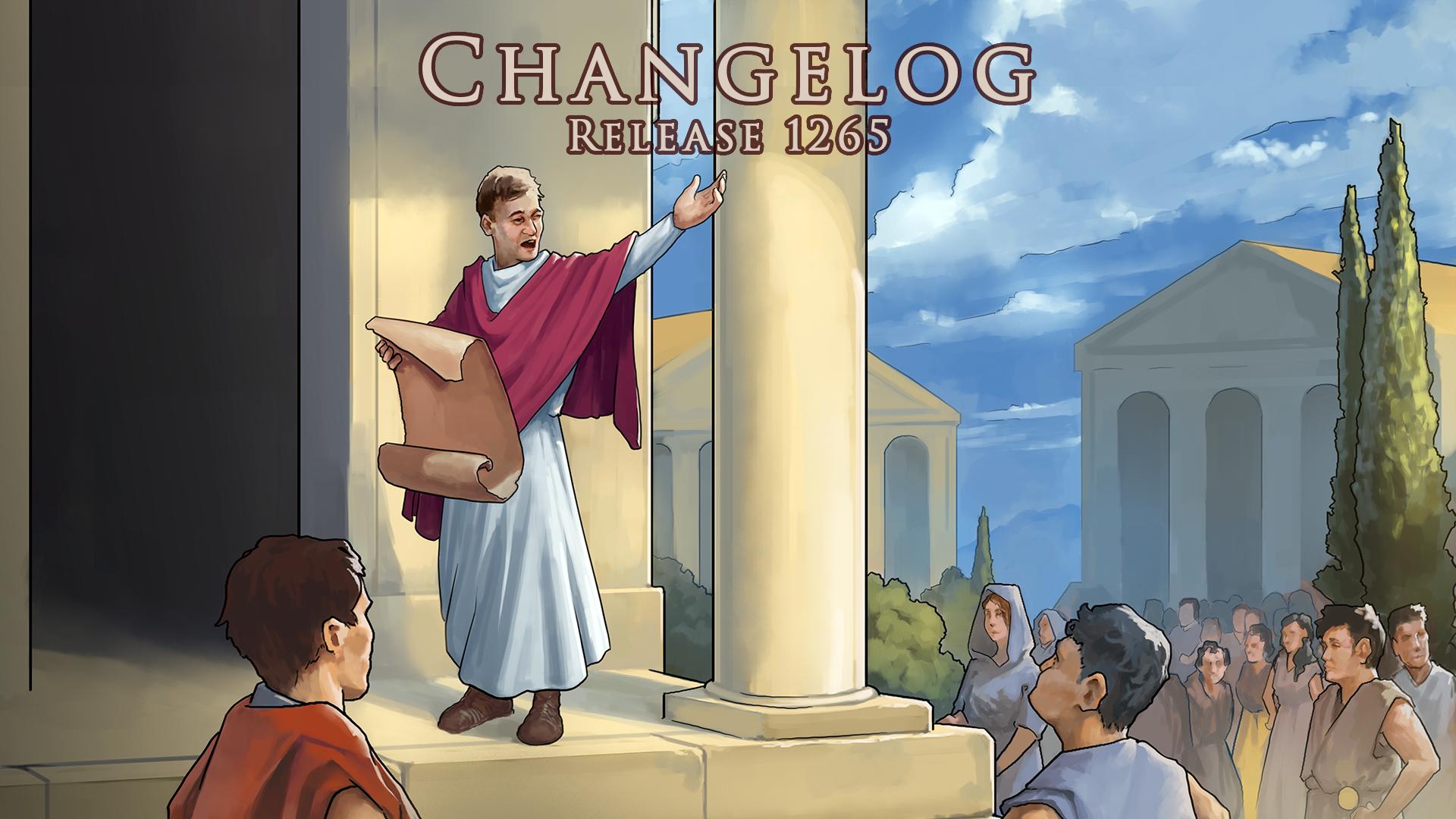 CHANGELOG – Release 1265