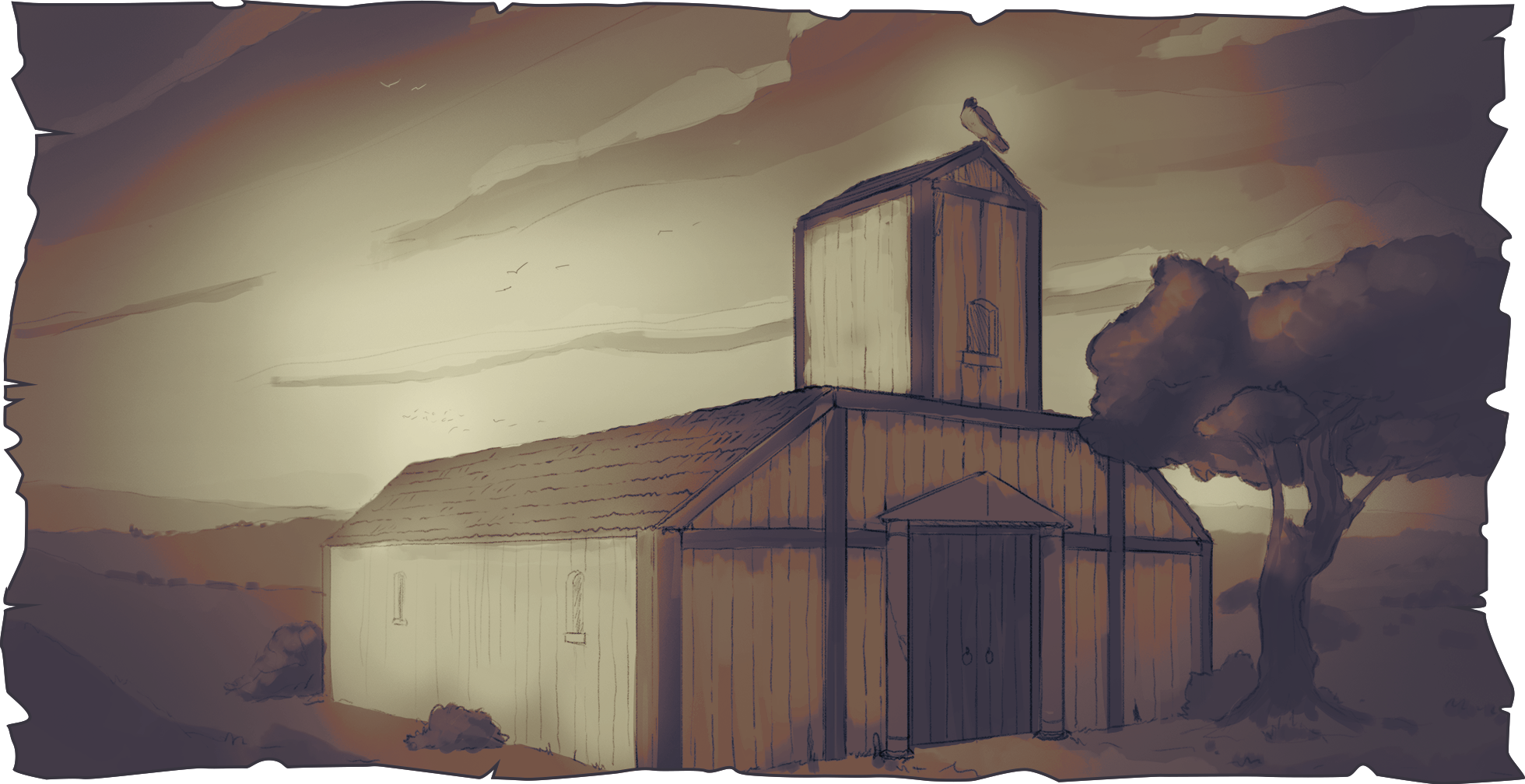 Travian: Tides of Conquest ~ The Old Vulture's Nest ~ The village of bricks [1/5]